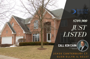 Just Listed – 2S430 Canterbury Ct. Glen Ellyn, IL 60137