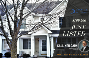 Just Listed – 606 Lincoln Station Dr , Oswego, IL 60543